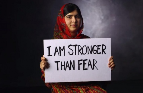 malala stronger than fear