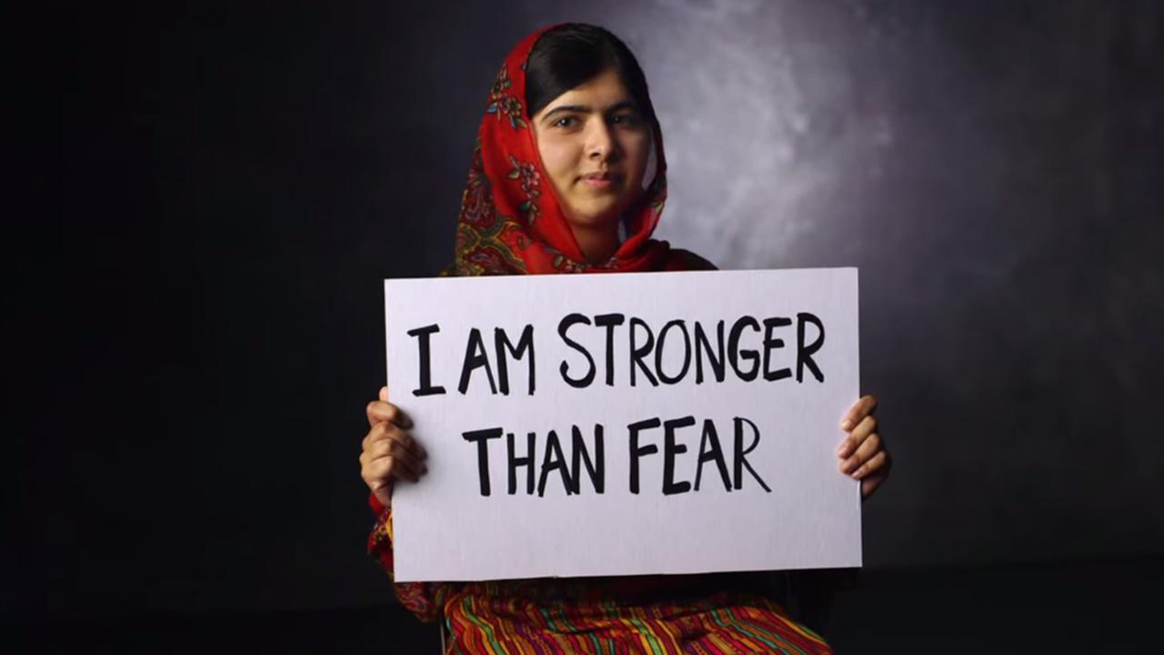 malala stronger than fear