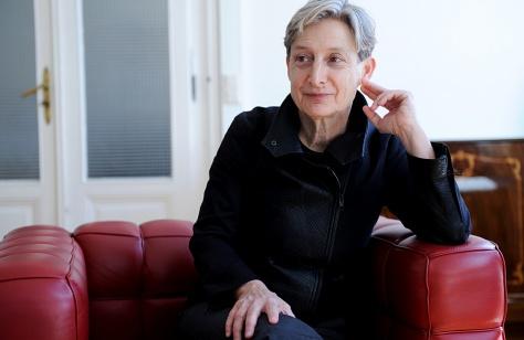 Judith Butler beim Interview im Sigmund Freud-MuseumFoto: Clemens Fabry